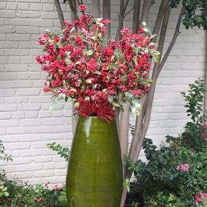 Extra Long Stems Berries Accents Flowers